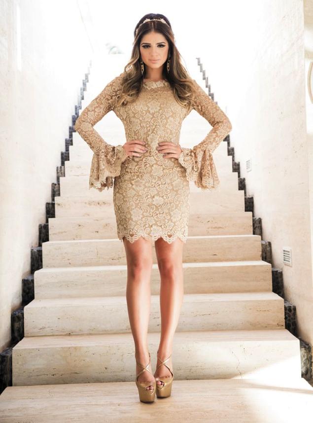 Nude Plus Size Dress