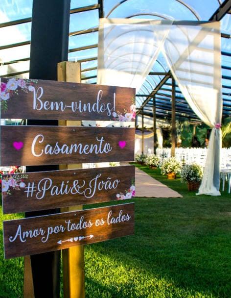 Ideias decoração de casamentos ao ar livre