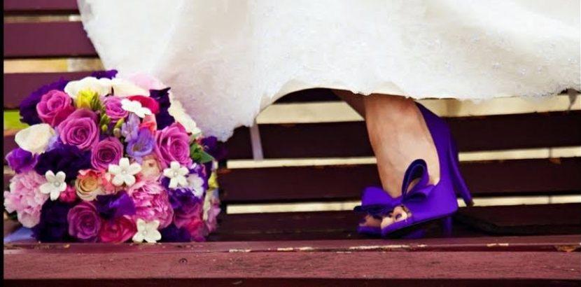 Capa post sapato colorido